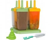 47% off Lebice Popsicle Molds, BPA Free, High Quality (Set of 6)