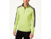 74% off Calvin Klein Men's Quarter Zip Stretch Interlock Sweatshirt