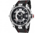 92% off Elini Barokas Fortitudo Duo Black Silicone Watch