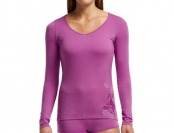 56% off Icebreaker Siren Sweetheart Water Lily Base Layer Top