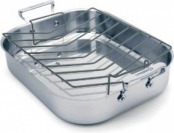 88% off Cuisinox POT-342RLG Elite Open Roaster Pan with Rack