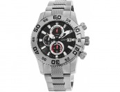 88% off Akribos XXIV Men's Chronograph SS Watch