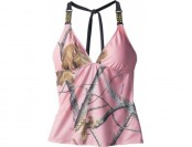 91% off Realtree Girl Women's Halter Tankini Top