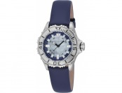84% off Invicta Women's Pro Diver Blue Leather MOP SS Watch