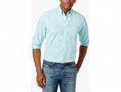 70% off Club Room Micro-Check Button-Down Shirt