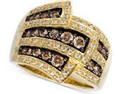 $5,401 off Le Vian Chocolate Diamond Wrap Ring 1 cttw. 14k Gold