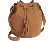66% off American Rag Faux-Suede Bucket Bag