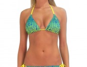 84% off Pelagic Women's Brown Bikini Top