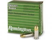 35% off Remington Golden Saber 9mm+p 124 Grain HPJ 25 rounds