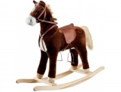 74% off Happy Trails Plush Rocking Horse