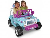 36% off Power Wheels Disney Frozen Jeep Wrangler