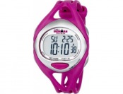 63% off Timex Women's T5K7599J Ironman Sleek 50-Lap Fuchsia Watch
