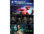 48% off DC Comics Starter Pack (The Flash / Gotham / Arrow) DVD