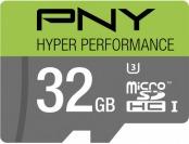 64% off PNY 32GB microSDHC Class 10 UHS-I/U3 Memory Card