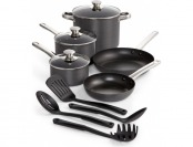 71% off Hard-Anodized 12-Piece Nonstick Cookware Set