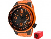 70% off Swiss Legend Neptune Automatic Orange Watch