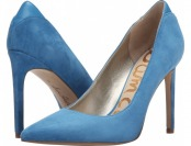 $47 off Sam Edelman Dea (Malibu Blue Kid Suede) Women's Shoes