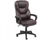 66% off Realspace Fosner High-Back Bonded Leather Chair