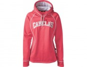 70% off Cabela's Women's Trail-Trainer Hoodie - Melon Heather