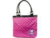 76% off MLB Philadelphia Phillies Pink Quilted Tote