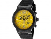 90% off Swiss Legend Legato Cirque Chrono Black IP SS Watch