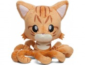 50% off Orange Tabby Tentacle Kitty Plush Toy