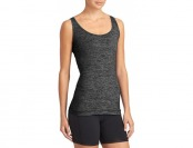 72% off Athleta Womens Odyssey Tank - Black heather
