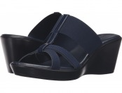 62% off Easy Street Ascea (Navy Patent) Women's Shoes