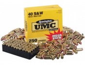 15% off Remington UMC S&W .40 Handgun Ammo Mega Pack