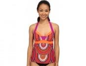 85% off Prana Isla Tankini (Fuchsia Tribe) Women's Swimwear