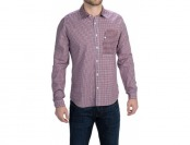87% off Barbour Club Patchwork Shirt - Long Sleeve (For Men)