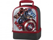 62% off Thermos Dual Lunch Kit, Captain America Civil War
