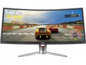 "$100 off BenQ XR3501 35"" Ultra Wide Curved VA Gaming Monitor"