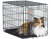 72% off Midwest iCrate Single Door Folding Dog Crate, 30""