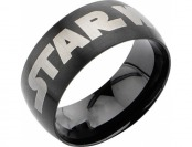75% off Men's Disney Star Wars Stainless Steel Logo Ring