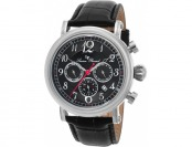 90% off Lucien Piccard Capri Multi-Function Leather Watch