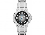 95% off Relic Stainless Steel Watch with Black Degrade Dial