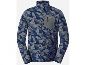 75% off Eddie Bauer Men's Cloud Layer 1/4-Zip Jacket