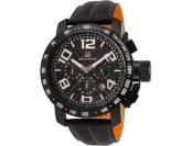 92% off Joshua & Sons Men's Chronograph Leather Watch