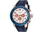 93% off Red Line Topgear Chrono Navy Blue Silicone Watch