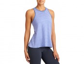74% off Athleta Womens Striped Serenity Trapeze Tank