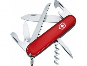 87% off Victorinox Swiss Army Camper Knife, Red