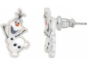 89% off Disney Frozen Silver Plated Olaf the Snowman Stud Earrings