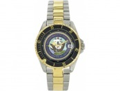 51% off Del Mar U.S. Navy Waterproof Watch with SS Band