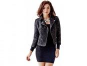 75% off Guess Rosita Leopard Jacquard Jacket