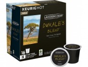 38% off Keurig Laughing Man Dukales Blend K-Cups (16-Pack)
