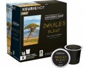 38% off Keurig Laughing Man Dukales Blend K-Cups (16-Pack)