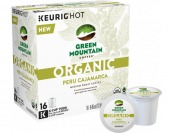 33% off Keurig Green Mountain Organic Peru Cajamarca K-Cups