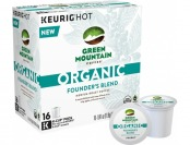 33% off Keurig Green Mountain Organic Founder's Blend K-Cups