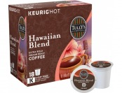 27% off Keurig Tully's Hawaiian Blend K-Cups (18-Pack)